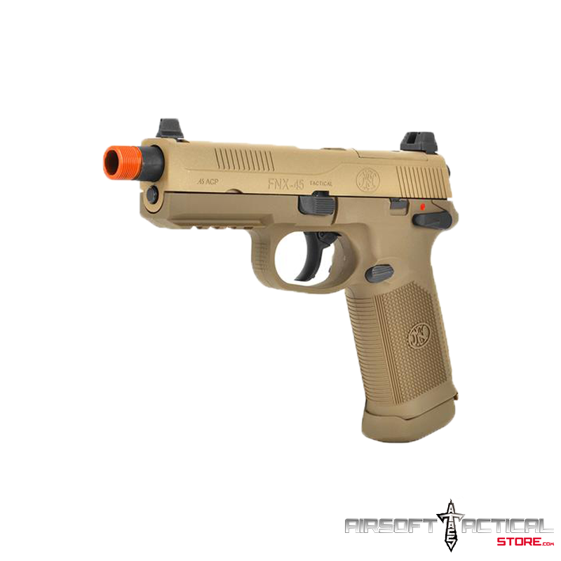 Fn Herstal Fnx 45 Color Tan By Cybergun Airsoft Tactical Store