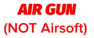 Air Gun (NOT Airsoft)