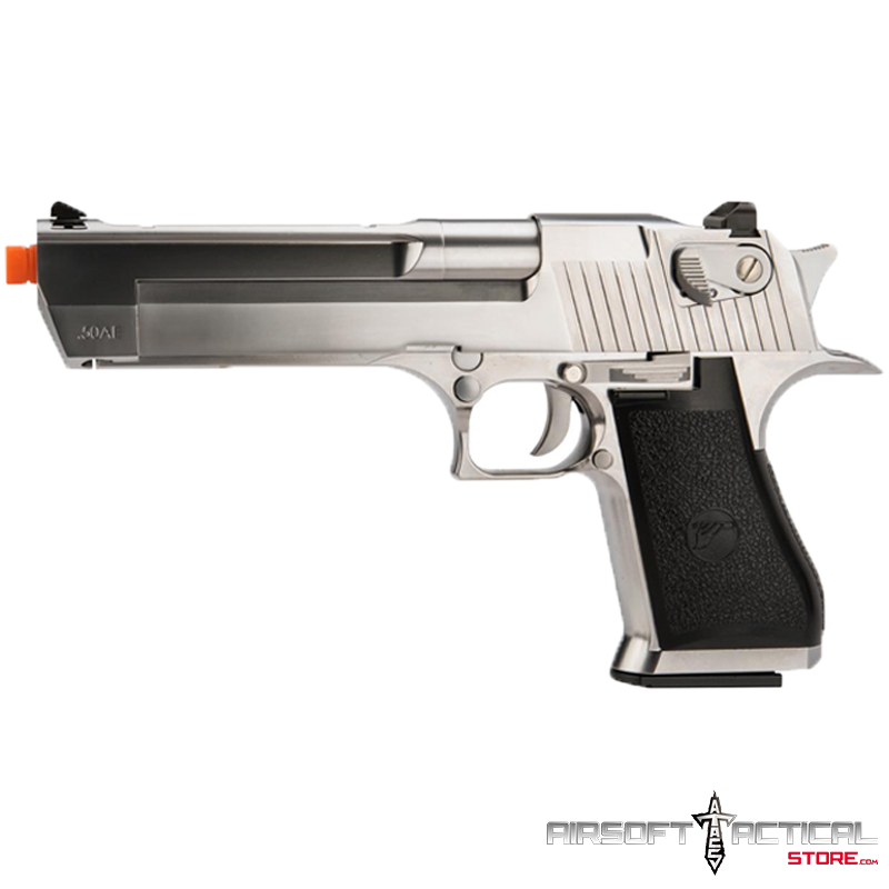 Oferta Final Desert Eagle 50 Full Metal Gbb Airsoft Pistol Color Chrome By Cybergun Airsoft Tactical Store