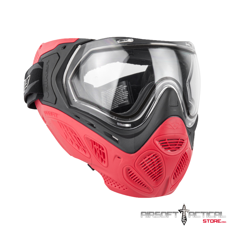 Profit SC Goggle/Mask (Color: Red) with Dual Pane Thermal Lens – Quick Change Foam by Valken