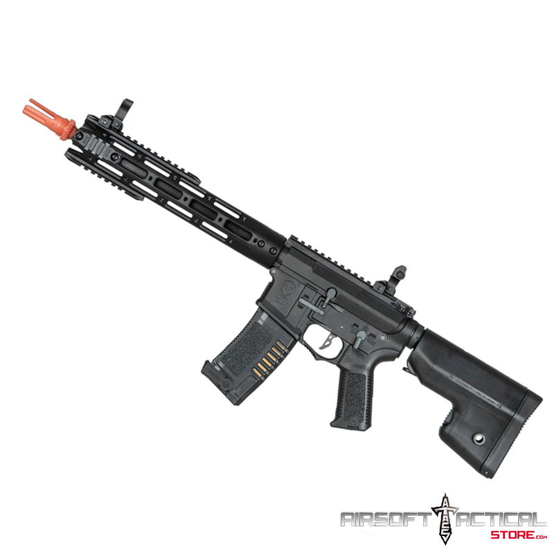 (SPECIAL OFFER) Amoeba GEN5 Black 13.5″ M4 Carbine AM-009 by ARES AMOEBA