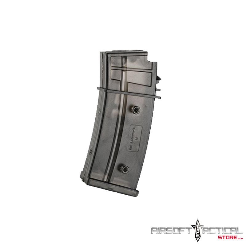 300rd Hi-Cap Magazine for G36 Series Airsoft AEG Rifles by HK