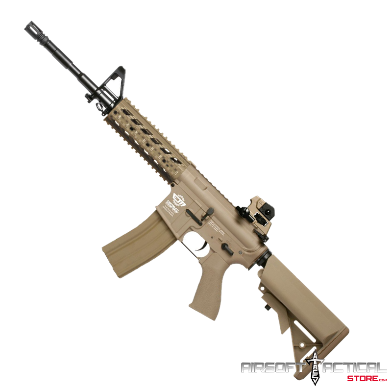 CM16 Raider Picatinny Full Metal Gearbox AEG (Color: Tan) by G&G Armament