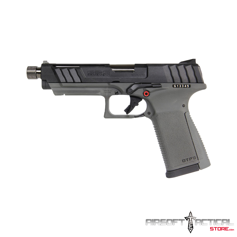 GTP9 GBB (Color: Grey) (Case and Speed Loader Included) by G&G
