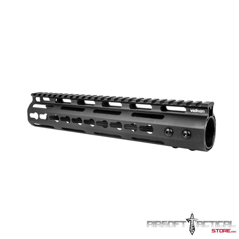 Keymod Rail Free Floating Handguard 10″ (Color: Black) by Valken