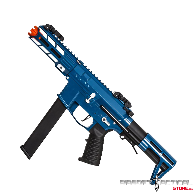 Nemesis X9 Airsoft AEG (Color: Blue/Silver) by Classic Army