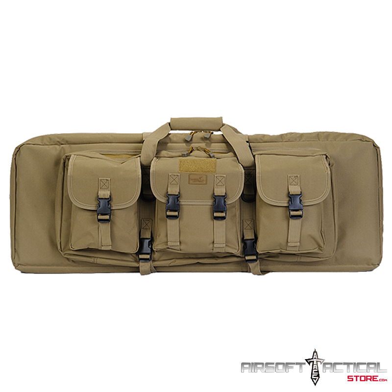 Double Gun Bag 36″ by w Lockable Zipper by Lancer Tactical