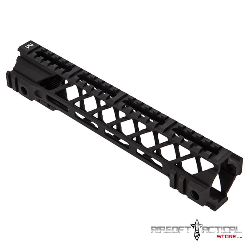 Battle Hawk M-LOK Rail Handguard System 10″ (Color: Black) by Lancer Tactical