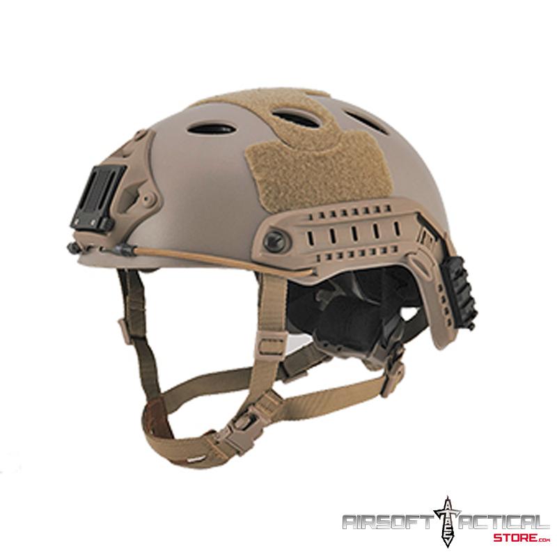 Helmet PJ Type (Color: DE) (LRG/XL) by Lancer Tactical