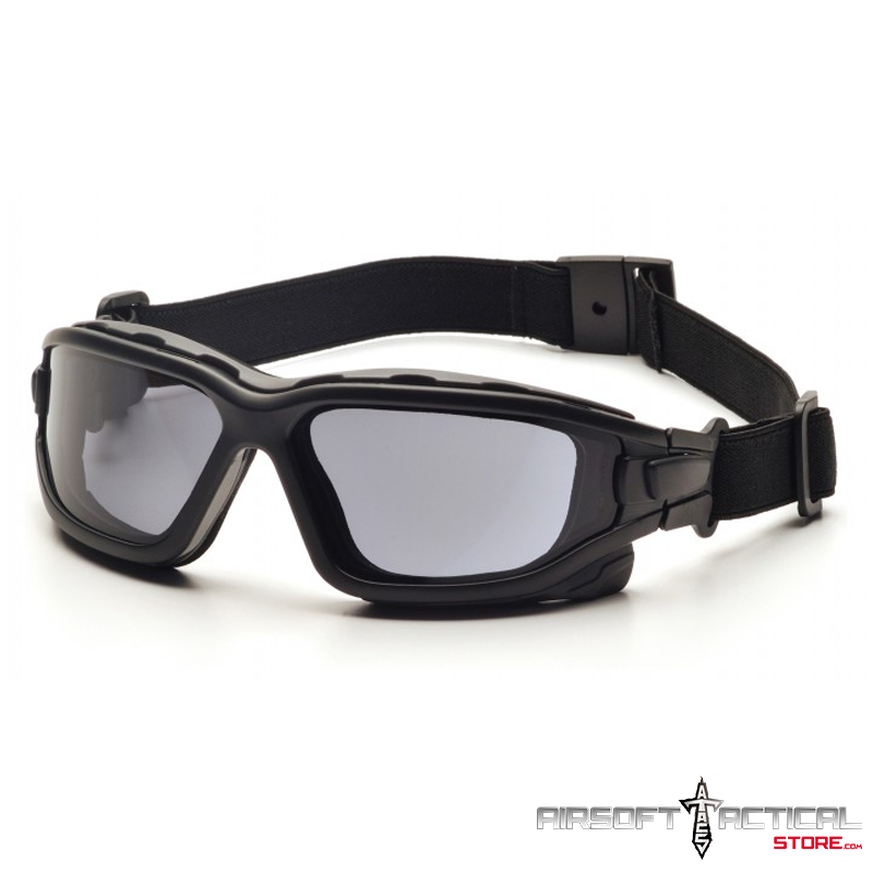 Goggles Black Frame / Dual Pane / Thermal / Gray Lenses w/H2X by Pyramex