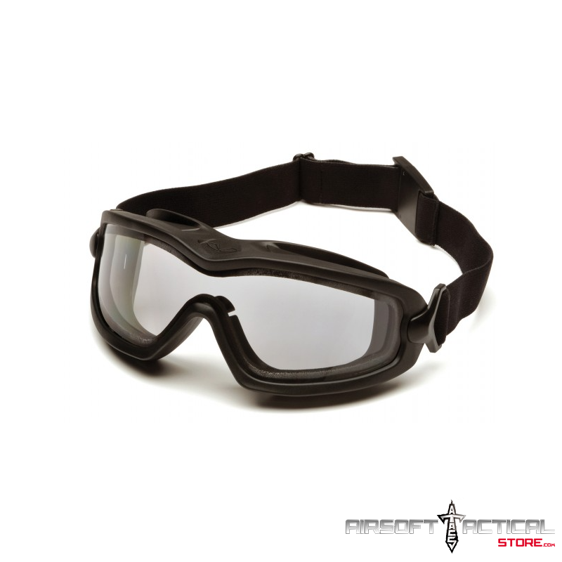 Thermal Eyewear Clear Dual Pane V2G Plus with Inserts Included by Pyramex H2X