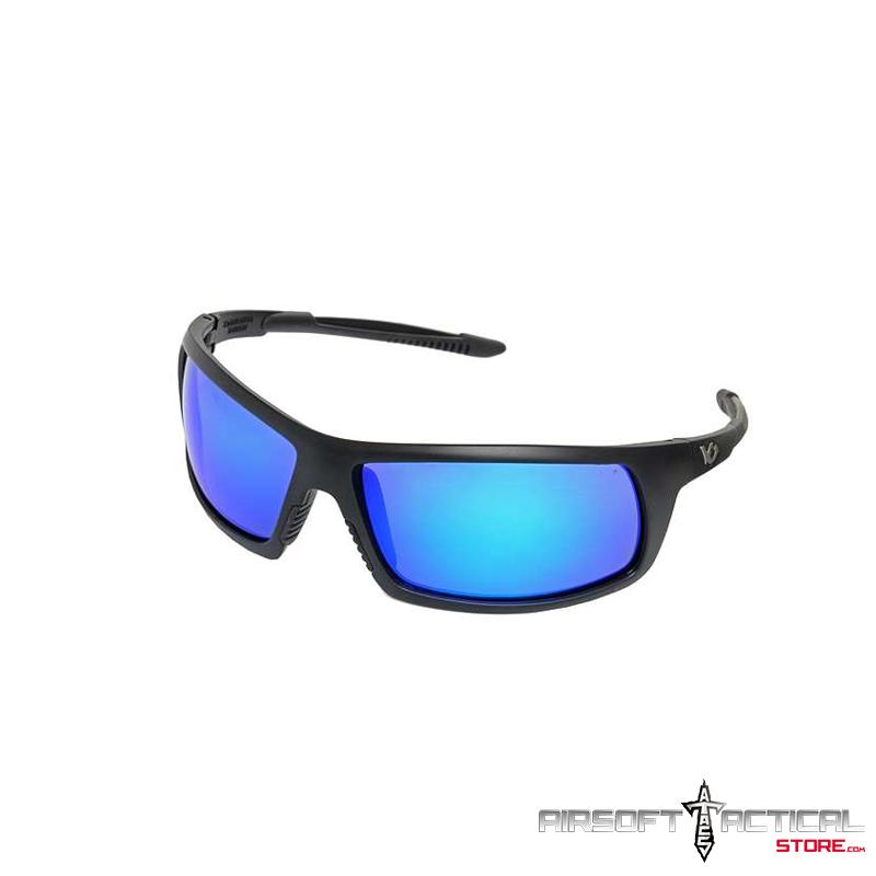 Ballistic Eyewear StoneWall Anti-Fog (Navy Blue lens/ Black Frame) by Pyramex