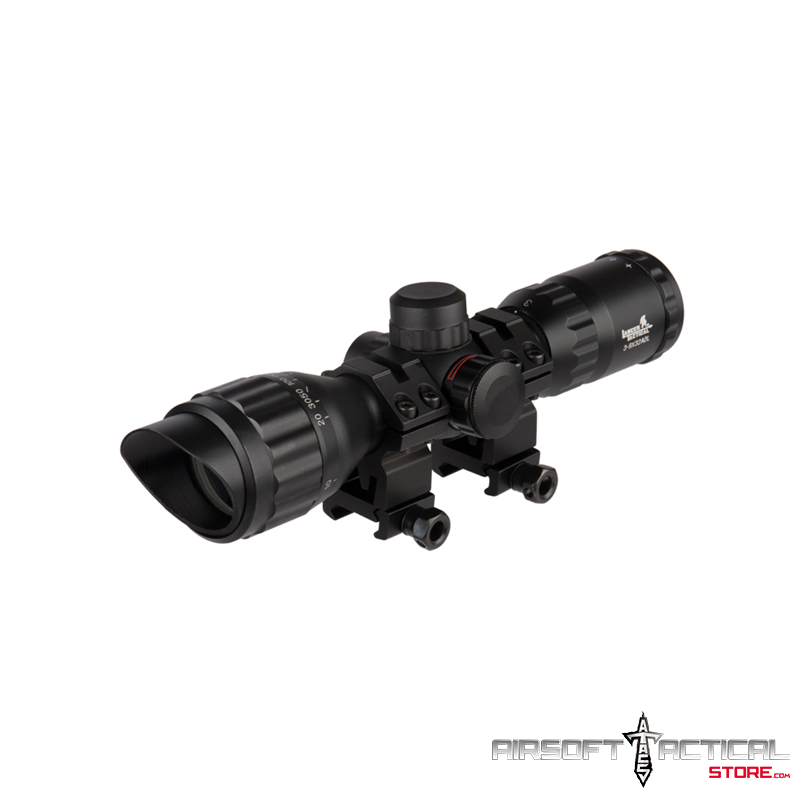 3-9×32 AOL MIL-DOT Rifle Scope by Lancer Tactical