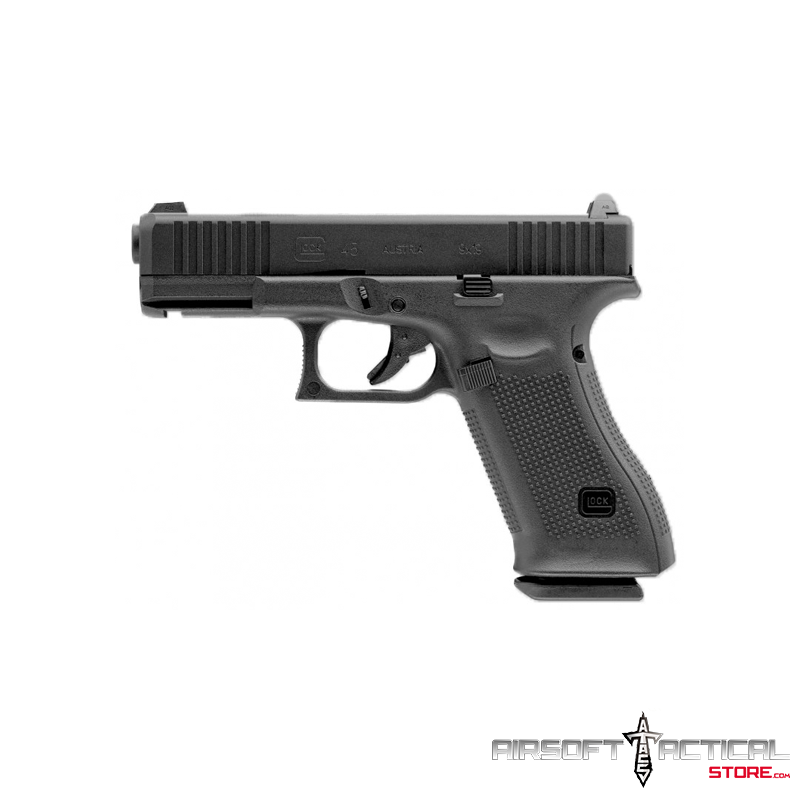 Fully Licensed GLOCK 45 Gen.5 Gas Blowback  Green Gas Airsoft Pistol by Elite Force