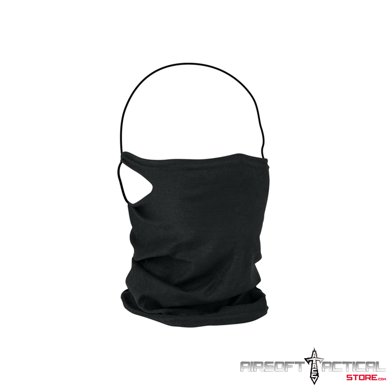 Gaiter Mask With Filter (Color: Black) by Zan Headgear