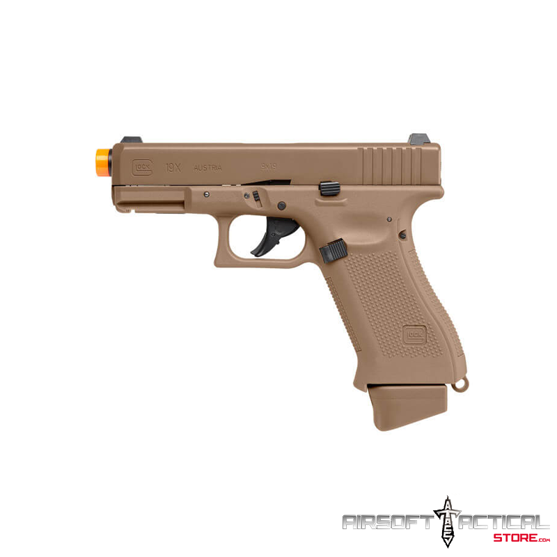 Fully Licensed GLOCK 19X Gas Half Blowback Airsoft Pistol (Type: CO2) by Elite Force