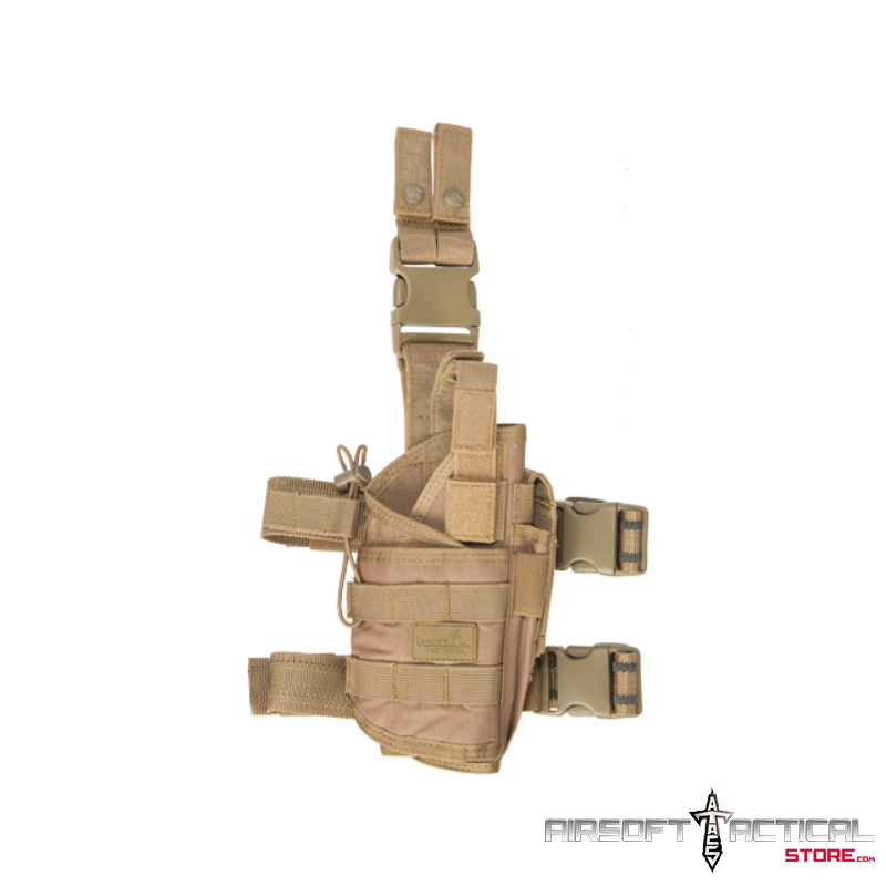 1000D Nylon Tornado Leg Holster (Color: Coyote Brown) by Lancer Tactical