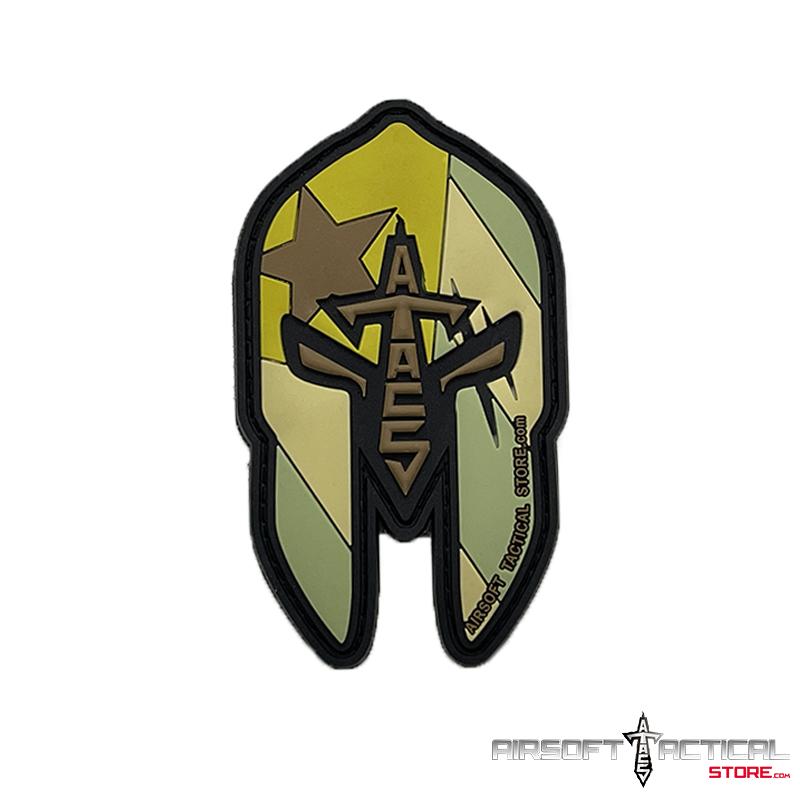 AtacS Spartan Warrior Mask P.R PVC Camo Patch