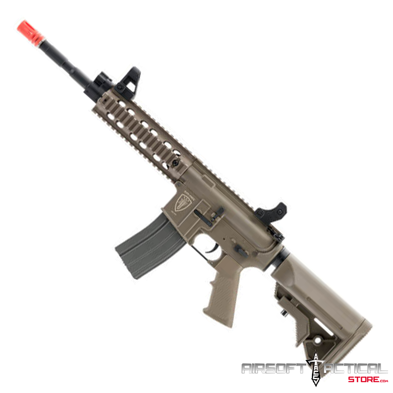Polymer M4 CFR AEG (Color: Tan) by Elite Force