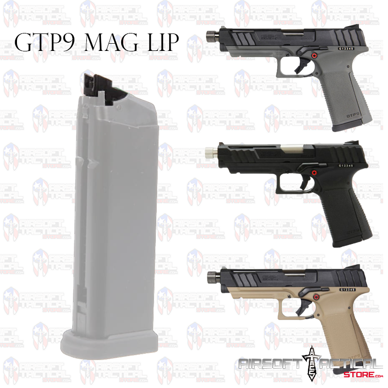 GTP9 Metal Mag lip by G&G Armament