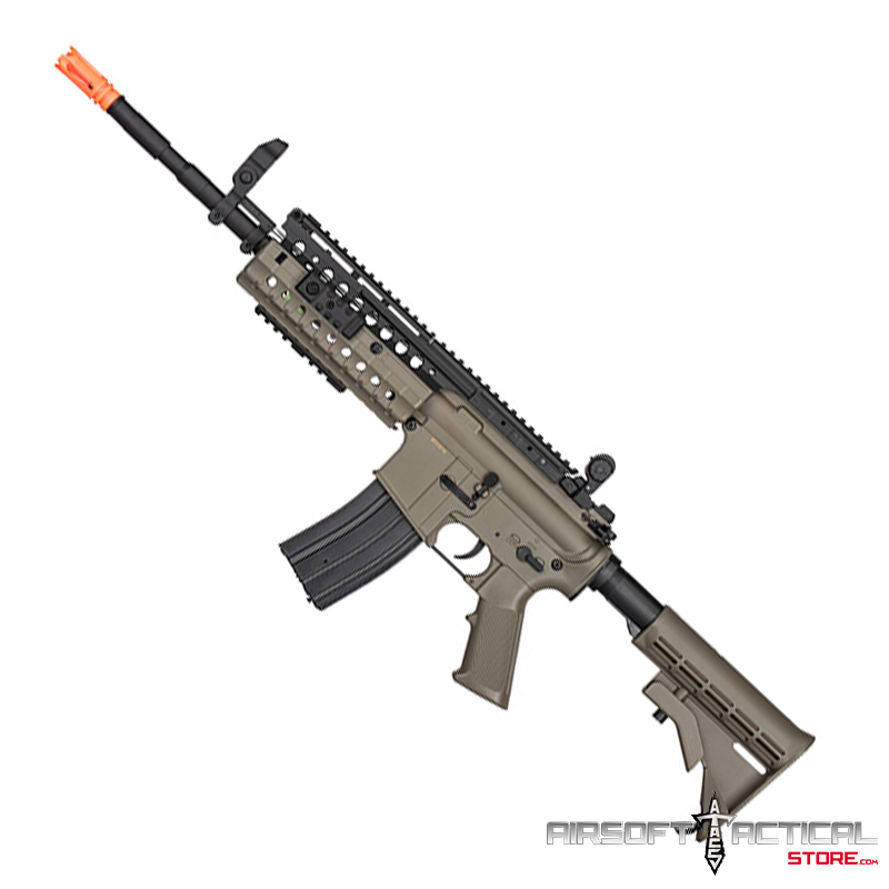 ( LIQUIDATION ) M4 Tactical-System AEG (Color: Dark Earth) by Lancer Tactical