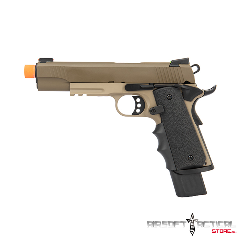 Full Metal R32 Gas Blowback Airsoft Pistol DARKSTORM by Army Armament