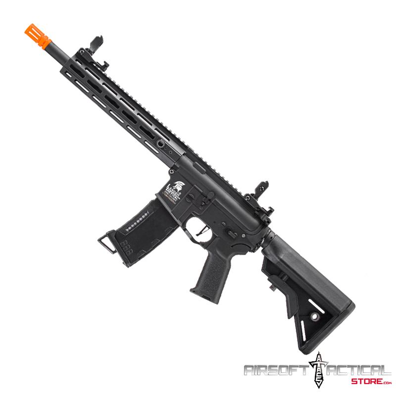M4 Hybrid Gen-3 10″ M-Lok Rail AEG (Color: Black) by Lancer Tactical