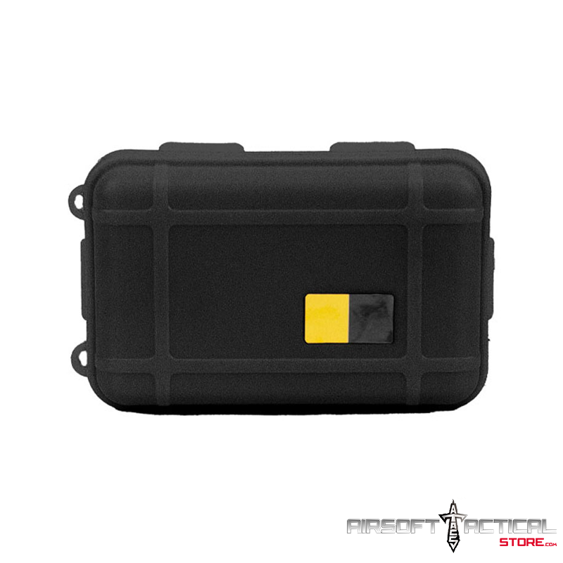 Nylon Polymer Padded Accessory Case (Color: Black) by Lancer Tactical