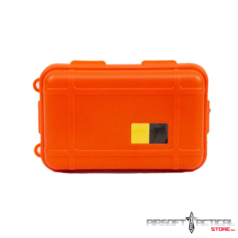 Nylon Polymer Padded Accessory Case (Color: Orange) by Lancer Tactical