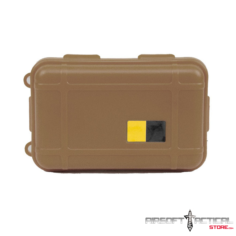 Nylon Polymer Padded Accessory Case (Color: Tan) by Lancer Tactical