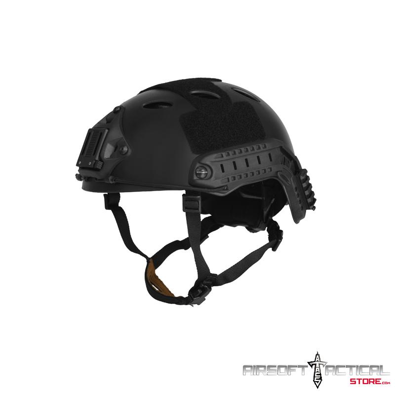 Helmet PJ Type (Color: Black) (Size: LRG/XL) by Lancer Tactical
